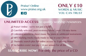 Click here to subscribe to Christian worship resources you can trust.